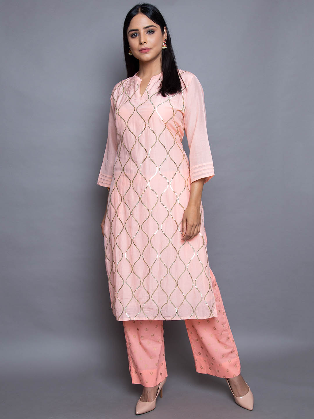 Sequence Silk Suit