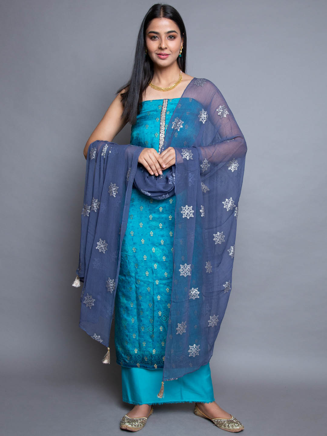 TURQ EMBROIDERY SUIT