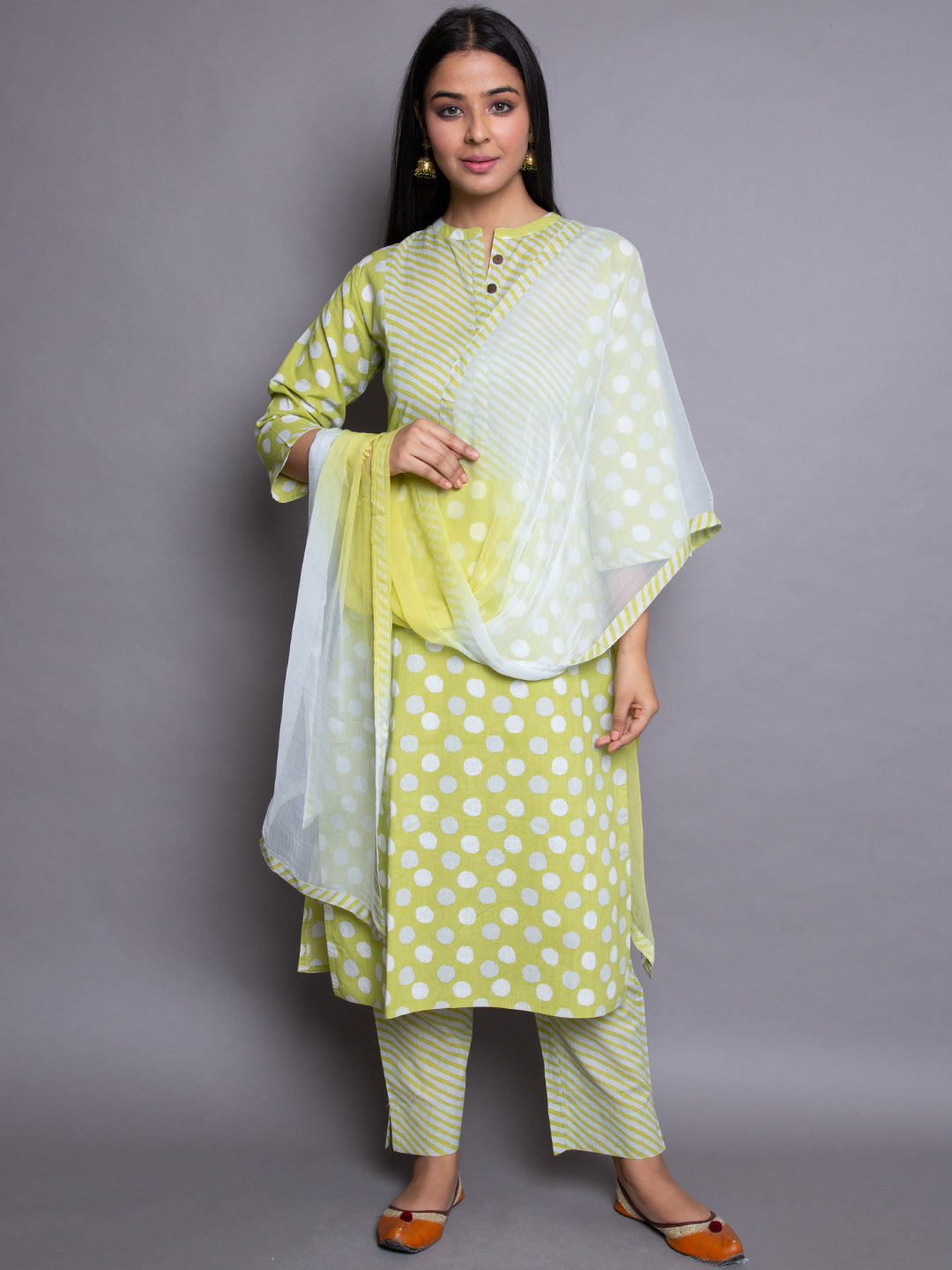 Pure Moonga suit With Lining Pant