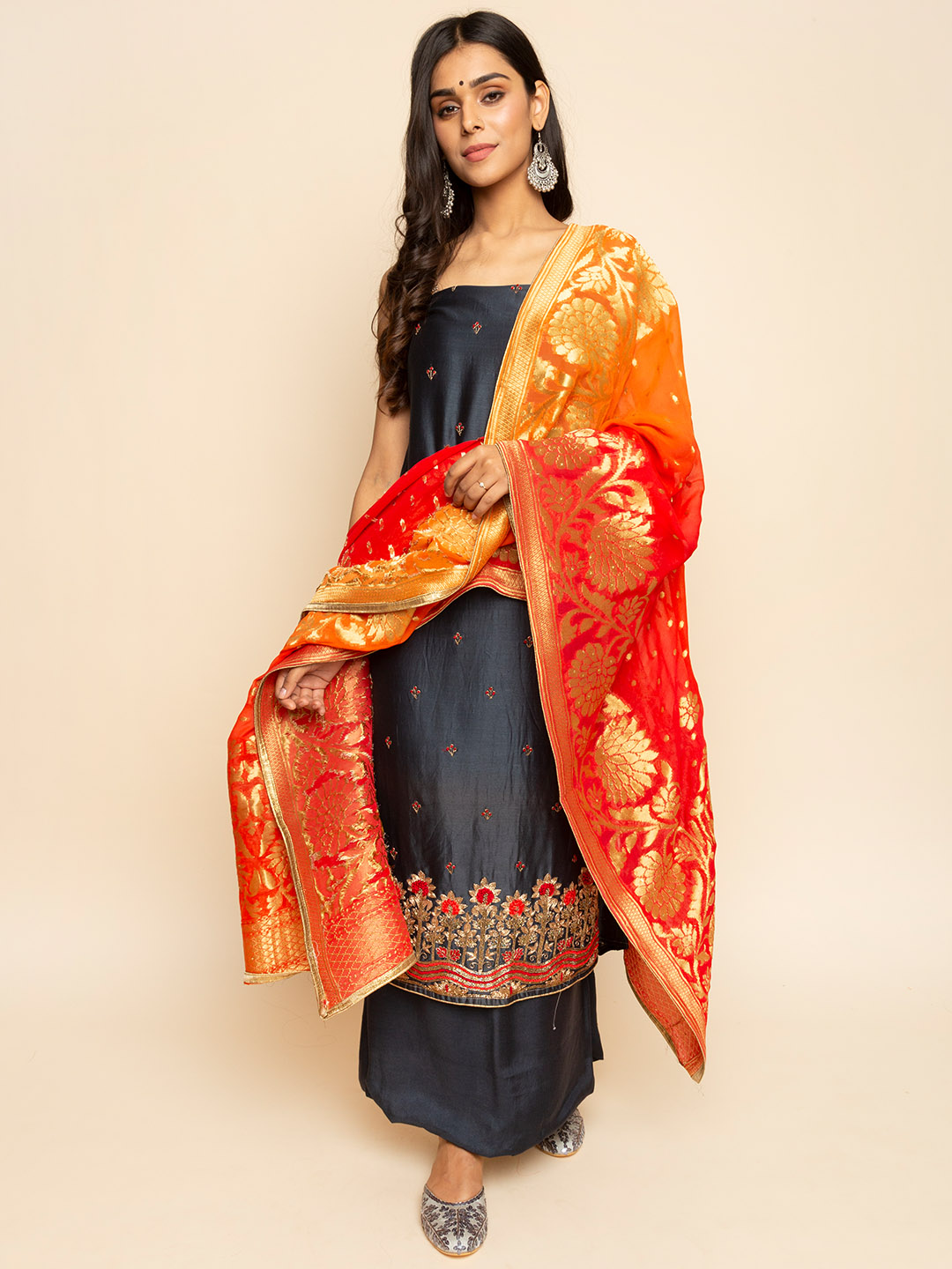 Handwork Embroidery Suit