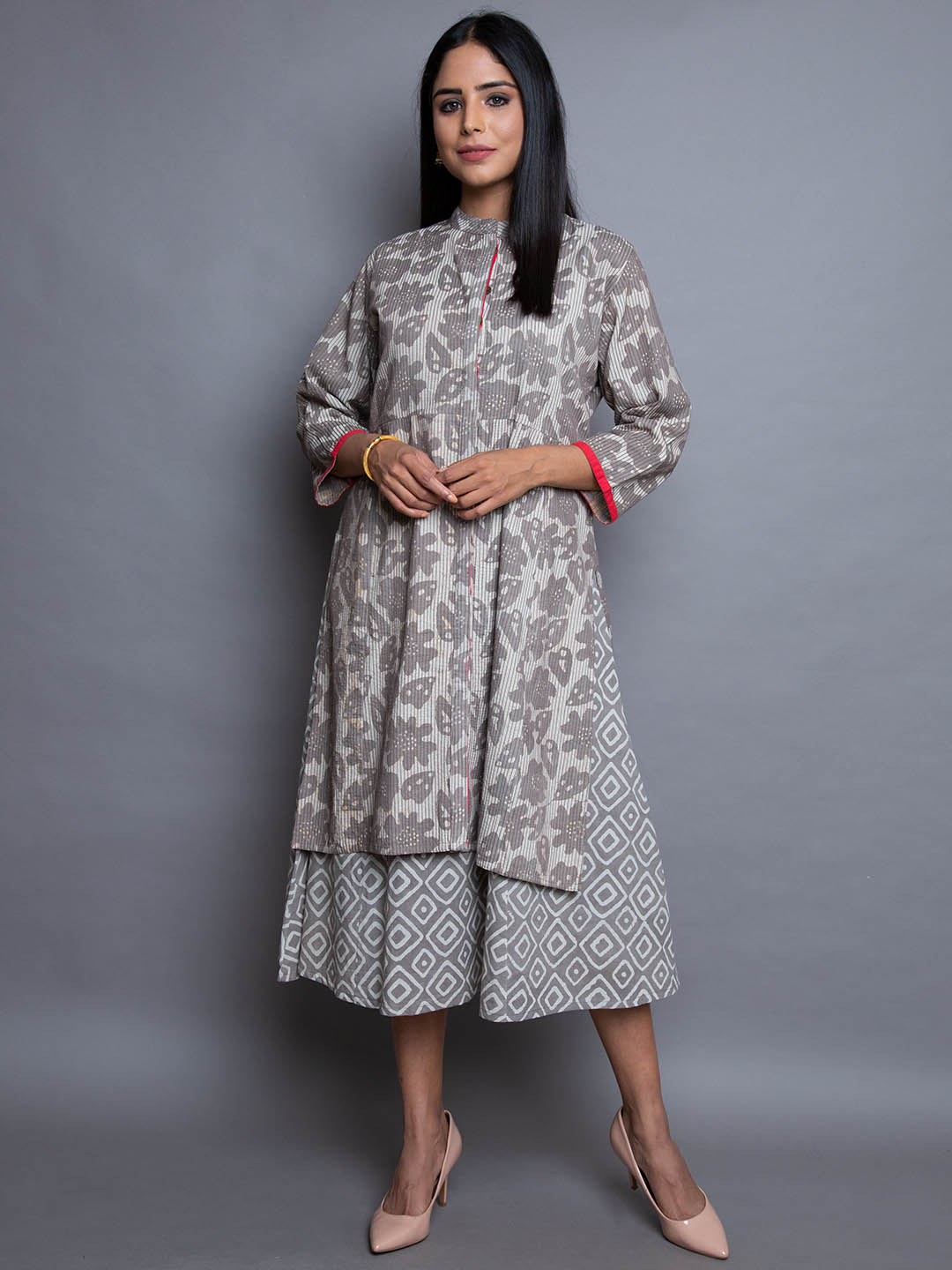 COTTON DRESS WITH INNER